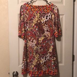 Candie's Paisley Shift Dress